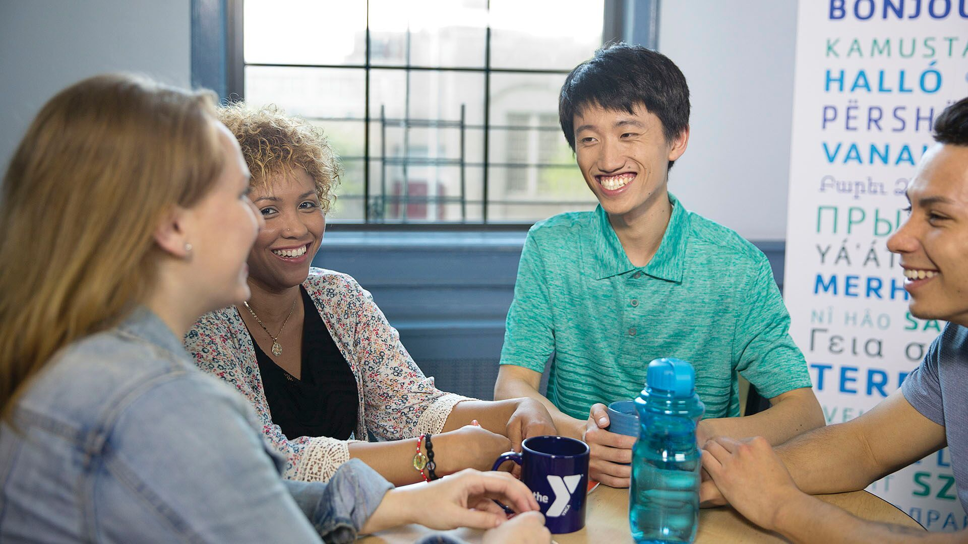 Members in language class YMCA Greater Charlotte